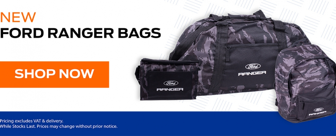 New Ford Ranger Bags Now Available!