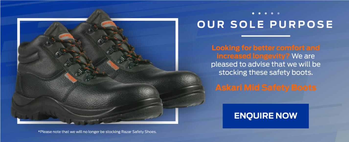 Askari Mid Safety Boots