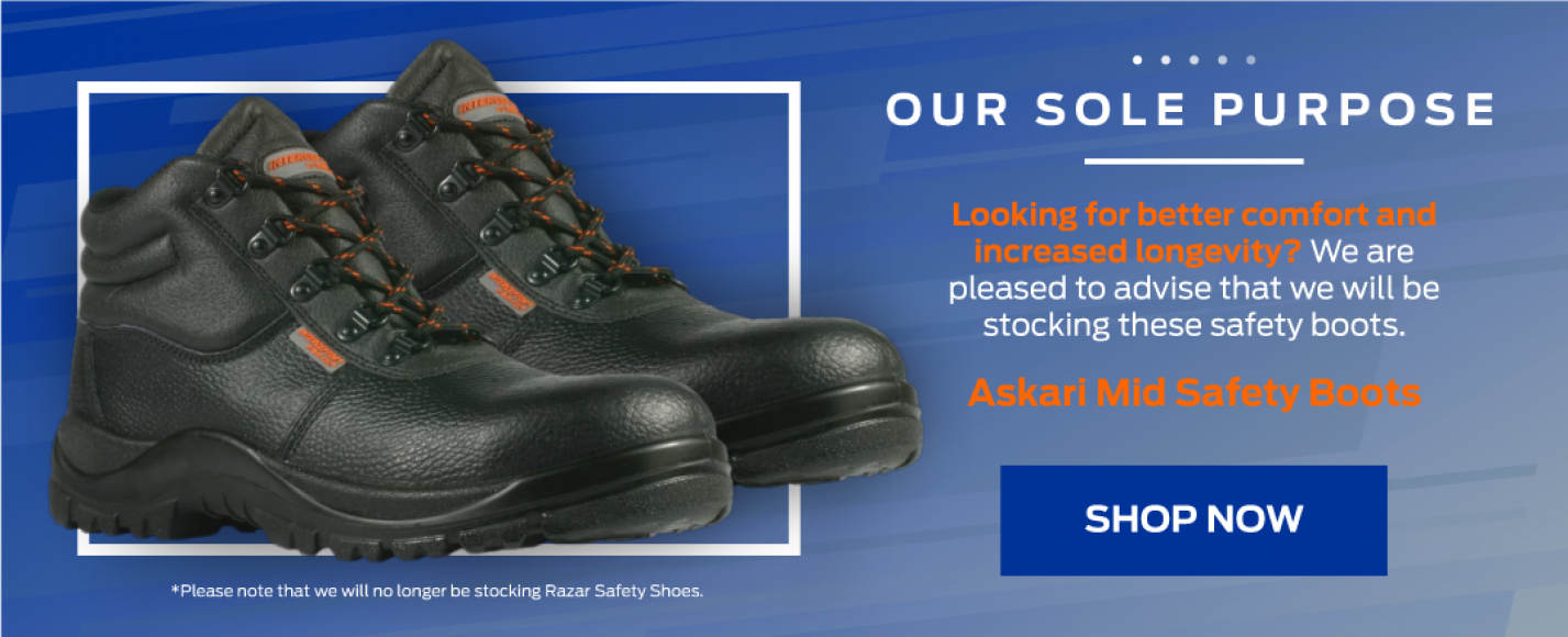 Ford Unisex Safety Boot – Askari Mid